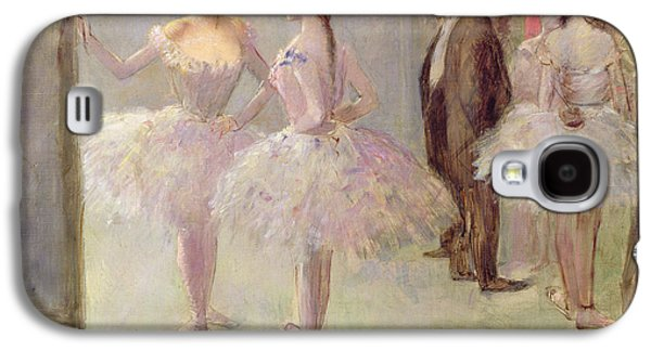 Dancers In The Wings At The Opera Galaxy S4 Case by Jean Louis Forain