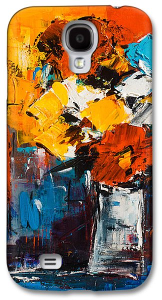 Dancing Colors Galaxy S4 Case by Elise Palmigiani