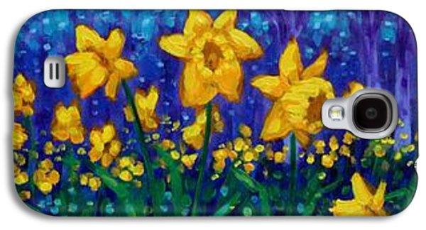 Dancing Daffodils  Galaxy S4 Case by John  Nolan