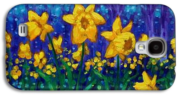 Dancing Daffodils  Galaxy S4 Case by John  Nolan