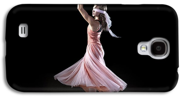 Dancing With Closed Eyes Galaxy S4 Case by Cindy Singleton