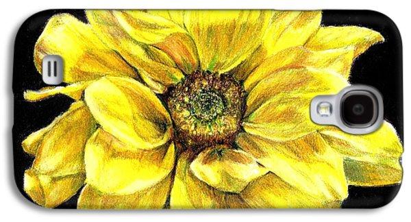 Dancing Yellow Daisy Galaxy S4 Case