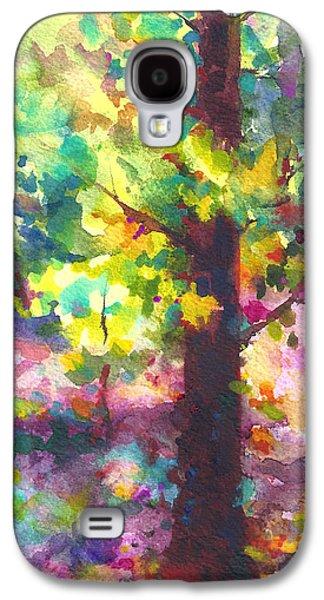 Dappled - Light Through Tree Canopy Galaxy S4 Case by Talya Johnson