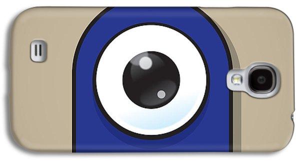 Dark Blue Galaxy S4 Case by Samuel Whitton