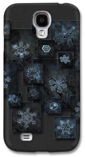 Snowflake Collage - Dark Crystals 2012-2014 Galaxy S4 Case
