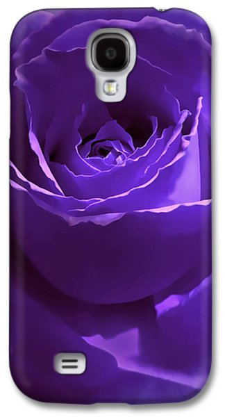 Dark Secrets Purple Rose Galaxy S4 Case
