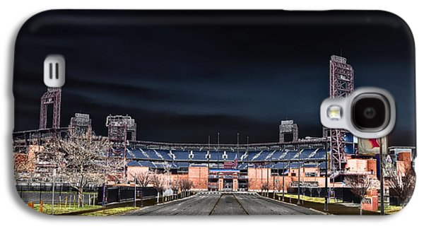 Dark Skies At Citizens Bank Park Galaxy S4 Case by Bill Cannon