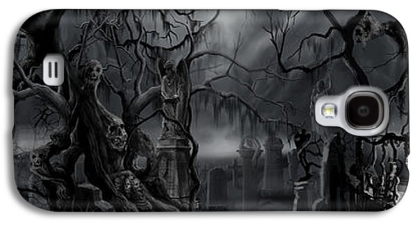 Darkness Has Crept In The Midnight Hour Galaxy S4 Case by James Christopher Hill