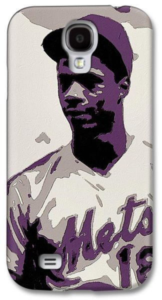 Darryl Strawberry Poster Art Galaxy S4 Case