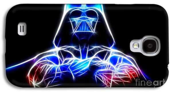 Darth Vader - The Force Be With You Galaxy S4 Case by Pamela Johnson