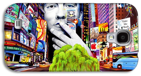 City Scenes Galaxy S4 Case - Dave Matthews Dreaming Tree by Joshua Morton