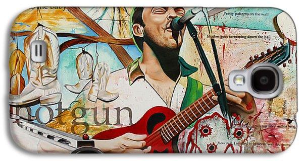 Dave Matthews Shotgun Galaxy S4 Case by Joshua Morton