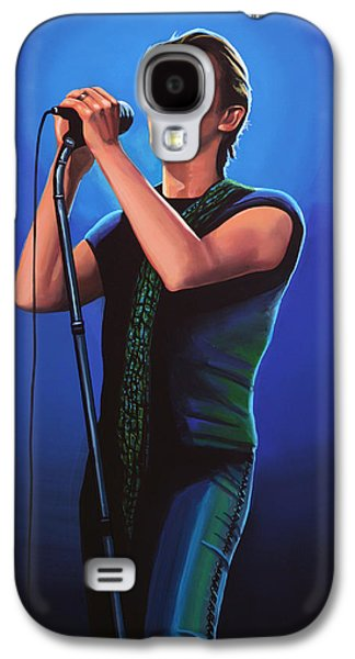 David Bowie 2 Painting Galaxy S4 Case