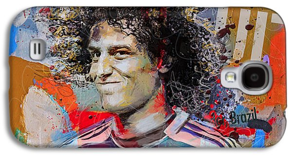 David Luiz Galaxy S4 Case by Corporate Art Task Force