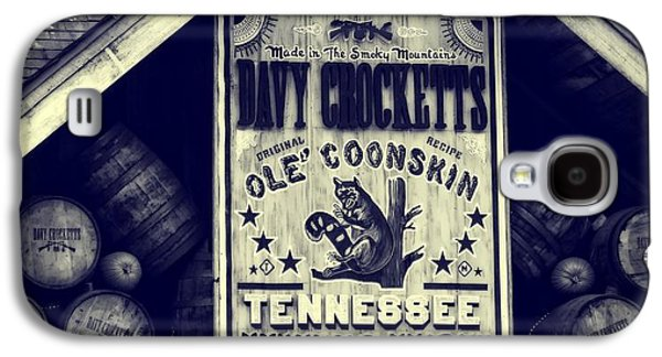 Davy Crocketts Tennessee Whiskey Galaxy S4 Case by Dan Sproul