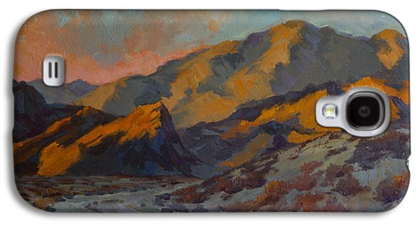 Dawn At La Quinta Cove Galaxy S4 Case by Diane McClary
