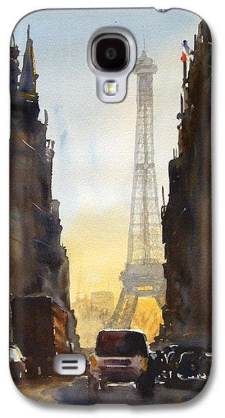 Dawn In Paris Galaxy S4 Case