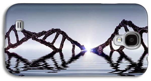 Dawn Of Dna Galaxy S4 Case by Richard Kail