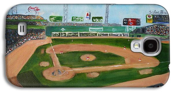 Day Game At Fenway Park Galaxy S4 Case by Joshua Chase