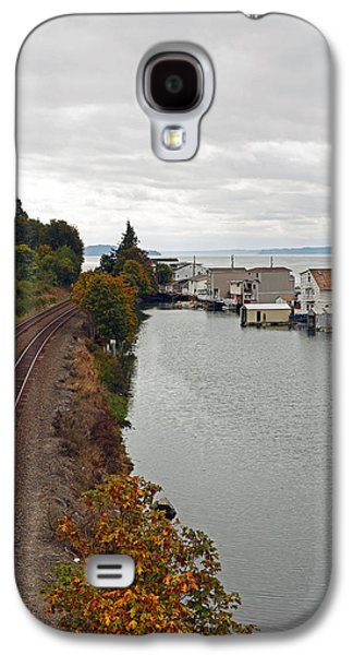 Galaxy S4 Case featuring the photograph Day Island Bridge View 2 by Anthony Baatz