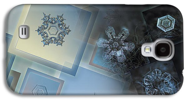 Snowflake Collage - Daybreak Galaxy S4 Case