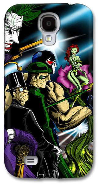 Dc Villains Galaxy S4 Case by Alexiss Jaimes