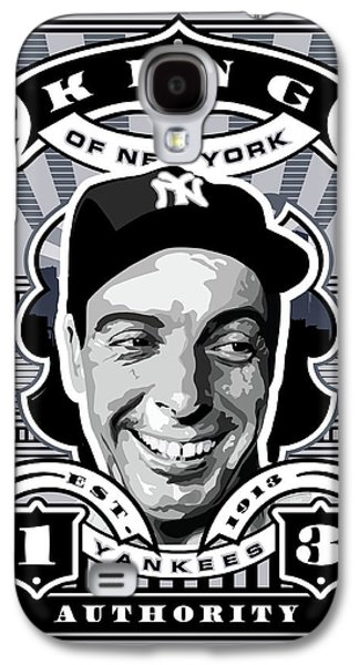 Dcla Joe Dimaggio Kings Of New York Stamp Artwork Galaxy S4 Case by David Cook Los Angeles
