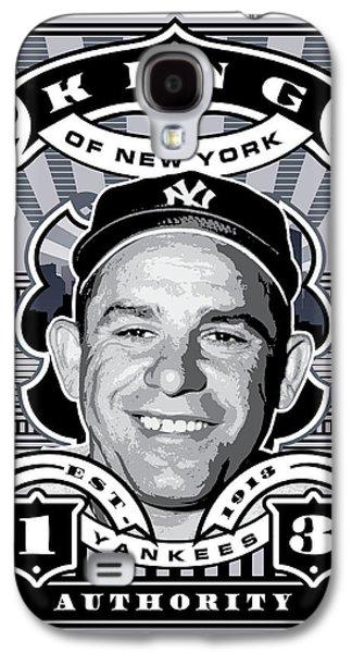 Dcla Yogi Berra Kings Of New York Stamp Artwork Galaxy S4 Case