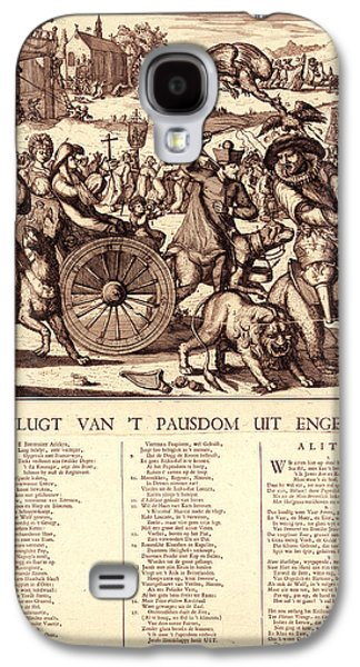 De Vlugt Van T Pausdom Uit Engelant, Hooghe, Romeyn De Galaxy S4 Case by Litz Collection