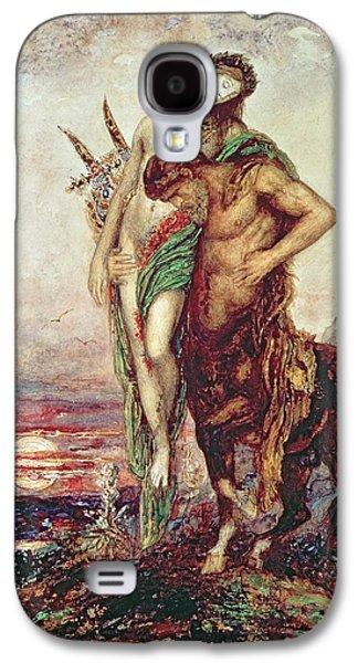 Dead Poet Borne By Centaur Galaxy S4 Case by Gustave Moreau