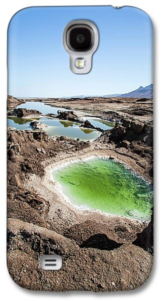 Dead Sea Sinkholes Galaxy S4 Case by Photostock-israel