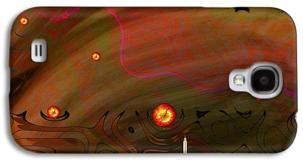 Dead Valley Year 5000  Galaxy S4 Case by Pepita Selles