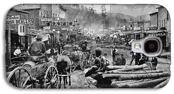 Deadwood South Dakota C. 1876 Galaxy S4 Case by Daniel Hagerman