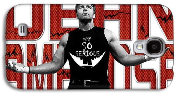 Dean Ambrose Why So Serious Galaxy S4 Case
