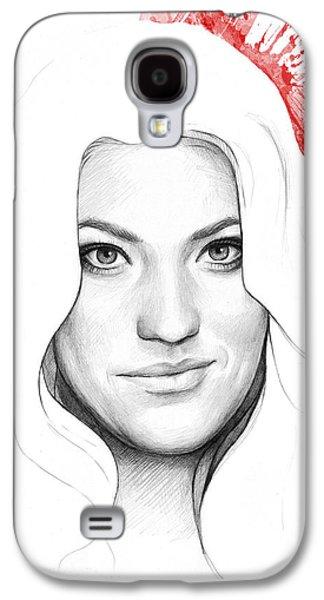 Debra Morgan Portrait - Dexter Galaxy S4 Case