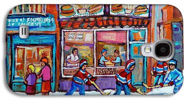 Decarie Hot Dog Restaurant Ville St. Laurent Montreal  Galaxy S4 Case
