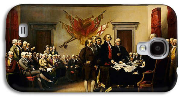Declaration Of Independence Galaxy S4 Case by MotionAge Designs