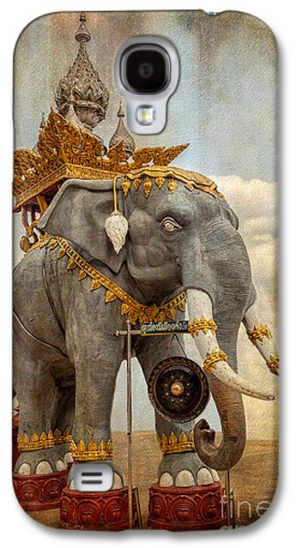 Decorative Elephant Galaxy S4 Case by Adrian Evans