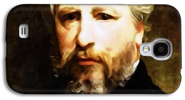 Dedication To William Adolphe Bouguereau Galaxy S4 Case by Georgiana Romanovna
