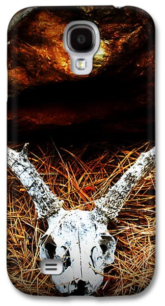 Deer Skull Galaxy S4 Case by Christina Ochsner