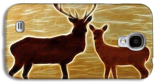 Deers Lookout Galaxy S4 Case by Georgeta Blanaru