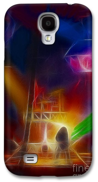 Def Leppard-adrenalize-gf10-fractal Galaxy S4 Case