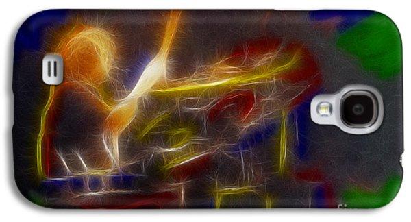 Def Leppard-adrenalize-gf24-ricka-fractal Galaxy S4 Case
