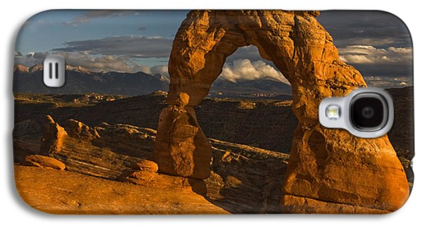 Delicate Arch Galaxy S4 Case by Mark Kiver