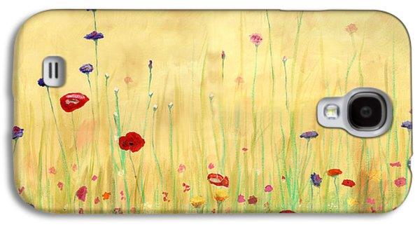 Delicate Poppies Galaxy S4 Case by Cecilia Brendel