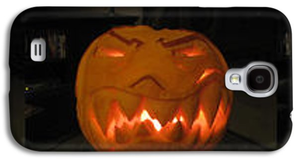 Demented Mister Ullman Pumpkin 2 Galaxy S4 Case