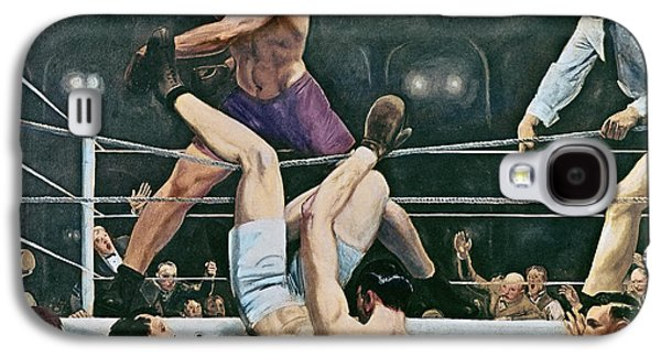 Dempsey V Firpo In New York City Galaxy S4 Case by George Wesley Bellows