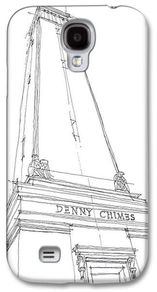 Denny Chimes Sketch Galaxy S4 Case by Calvin Durham