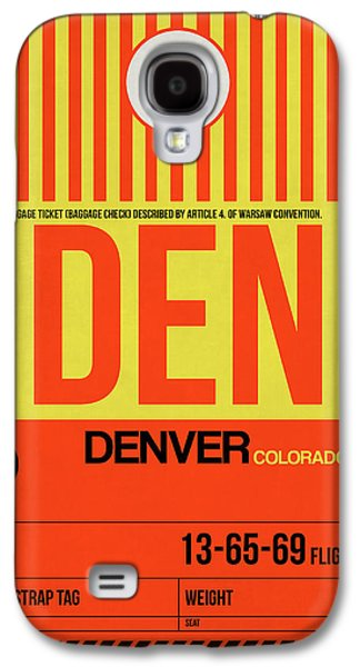 Denver Airport Poster 3 Galaxy S4 Case by Naxart Studio