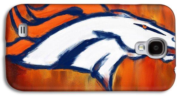 Denver Broncos Galaxy S4 Case by Lourry Legarde